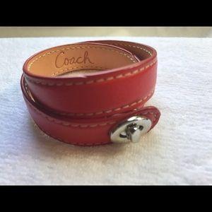 Coach Double Strap Bracelet